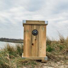 Zeeuwse knop Bloembak L45 x B48 x H75 knop 11 cm