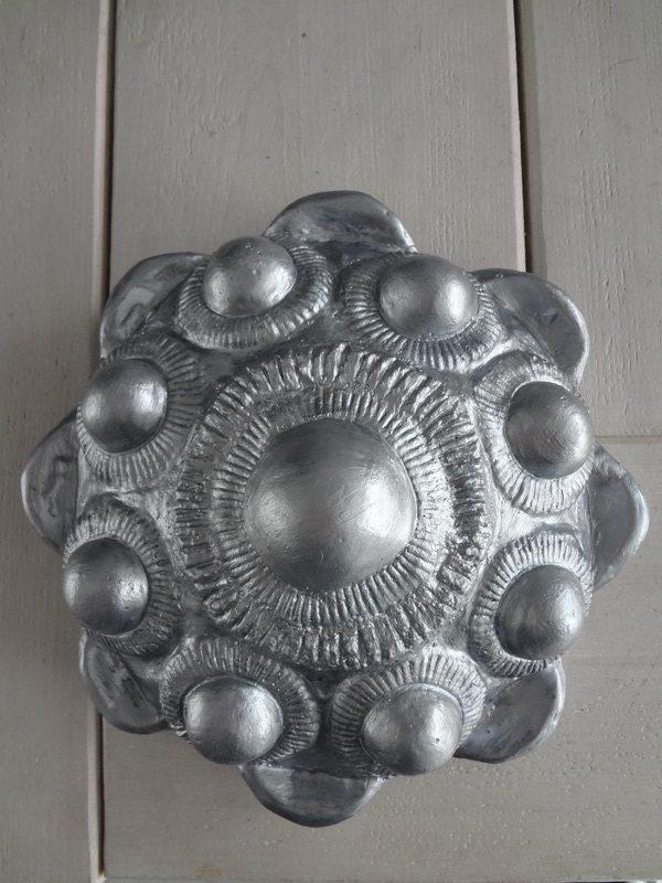 Zeeuwse knop ophang 26 cm zilver