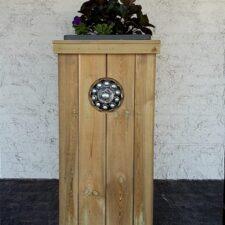 Zeeuwse knop bloembakken L50 x B50 x H125 knop 16 cm