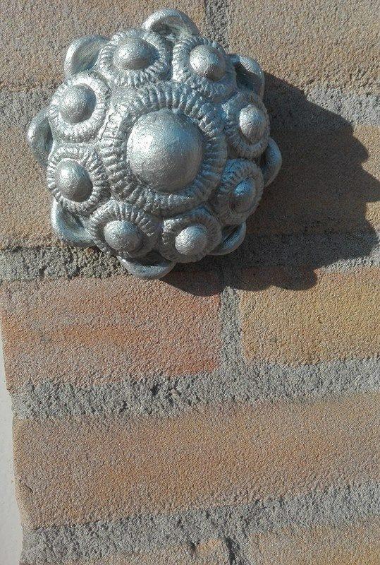 zeeuwse knop ophang zilver 11 cm