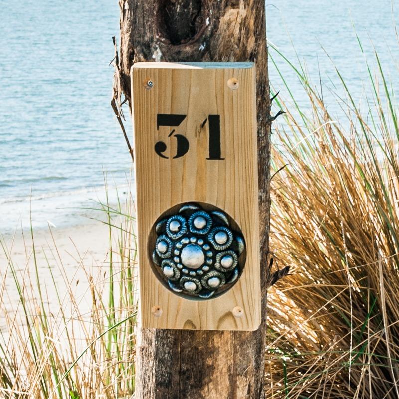 Zeeuwse knop Huisnummerbord