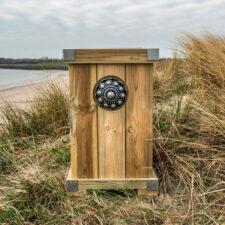 Zeeuwse knop Bloembak L45 x B48 x H75 knop 16 cm