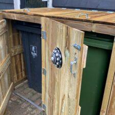 Zeeuwse Knop Containerberging Duo 240 L geïmpregneerd hout